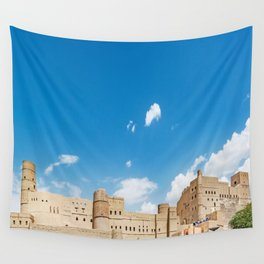 Omani Fort 3 Wall Tapestry
