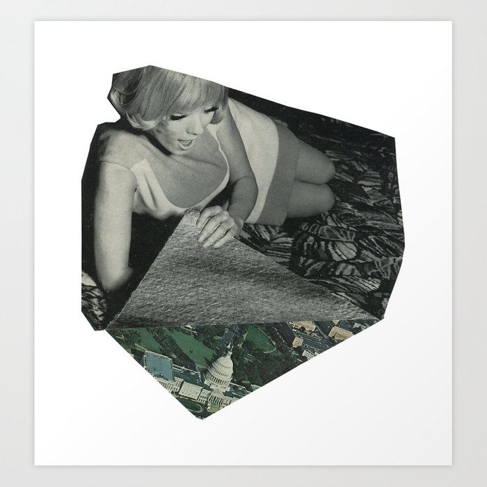 See The World. Art Print