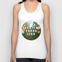 vampire weekend Tank Tops featuring Weekend of the Lion by Modern Vampires of Art History