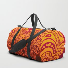 Not a circus elephant african version Duffle Bag