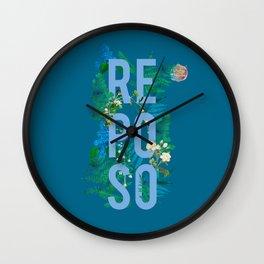 Reposo Wall Clock