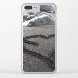 Romance Down the Shore Clear iPhone Case