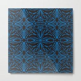 Angry_pattern Metal Print