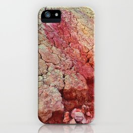 Red Clay Cliffs iPhone Case
