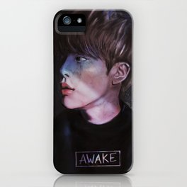 awake.jpg iPhone Case