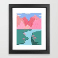 Girls' Oasis Framed Art Print
