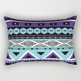 Aztec Pattern No. 11 Rectangular Pillow