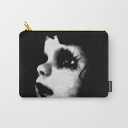 Creepy Doll Face Carry-All Pouch