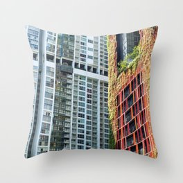 Oasia Hotel Downtown Peck Seah Singapore Ultra HD Throw Pillow