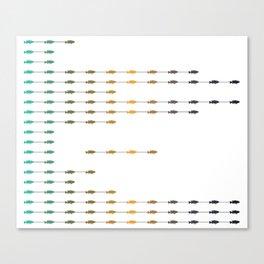 Fishettes Canvas Print