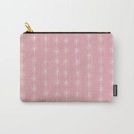 Pink Daisy Chain (Large Print) Carry-All Pouch