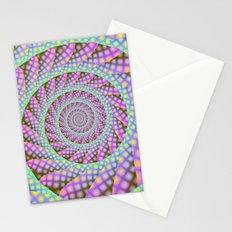 Dotty Spiral Stationery Cards