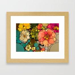 Perky Flowers! Framed Art Print