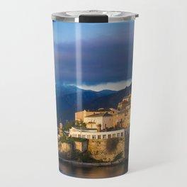 Sunrise in Bastia Travel Mug
