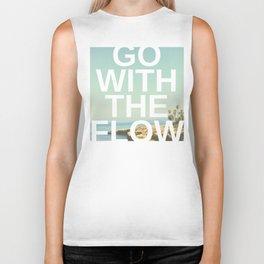 Go with the Flow Biker Tank