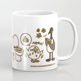 Eggman Comics - Green Beer Coffee Mug