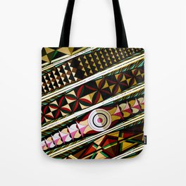 Color Me a Rainbow Colorful Spanish Church Ceiling Tote Bag