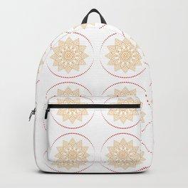 Dot mandala, Floral mandala, mandala art, mandala pattern, round mandala Backpack