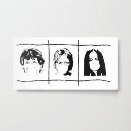 Famous singers Metal Print