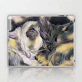 """Cat Love"" Laptop & iPad Skin"