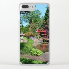 Unforgettable Journey Clear iPhone Case