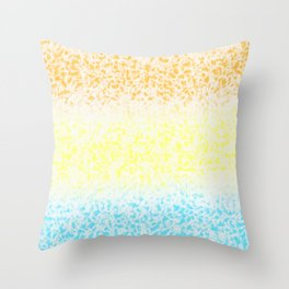 Surf on Colors (1) Throw Pillow