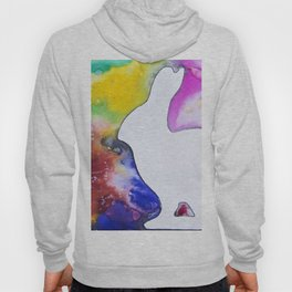 Bunny in space Hoody