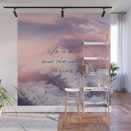 World is wide Wall Mural