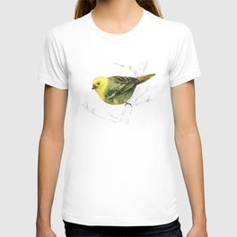 Mr Mohua , yellowhead New Zealand native bird T-shirt