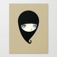 Black Drop Canvas Print