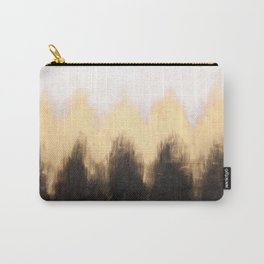 Metallic Abstract Carry-All Pouch