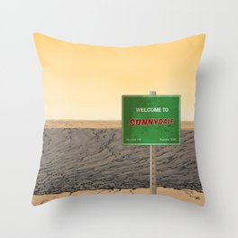 Welcome to Sunnydale Throw Pillow