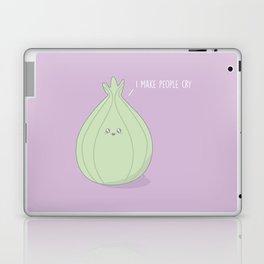 I Make People Cry #kawaii #onion Laptop & iPad Skin
