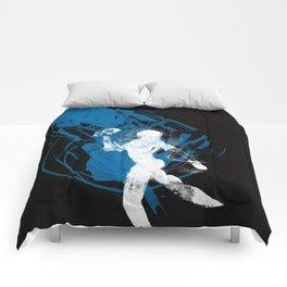 paleo runner Comforters