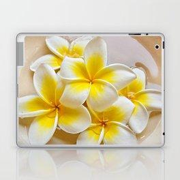 Plumeria Blossoms Laptop & iPad Skin