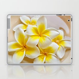 Plumeria Blossoms Laptop & iPad Skin