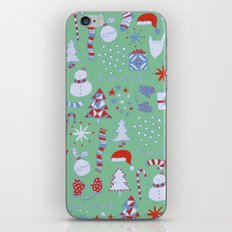 Christmas Fun iPhone & iPod Skin
