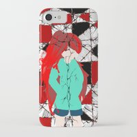 madoka magica iPhone & iPod Cases featuring Madoka Magica - Kyoko by Shim Kirosiki