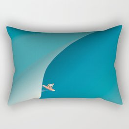 Surf Aerial View Rectangular Pillow