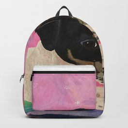 Rat Terrier Gretchen is a Shooting Star Backpack