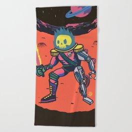Space Pirate Beach Towel