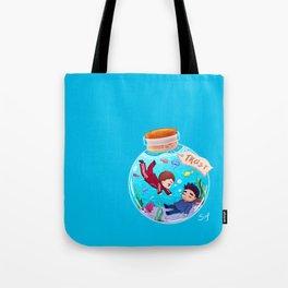 Sterek Bottle Trust Tote Bag
