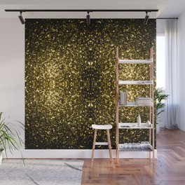 Beautiful Yellow Gold sparkles Wall Mural
