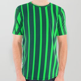 """""""Jungle"""" geometric All Over Graphic Tee"""