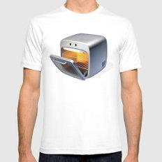 Oven MEDIUM Mens Fitted Tee White