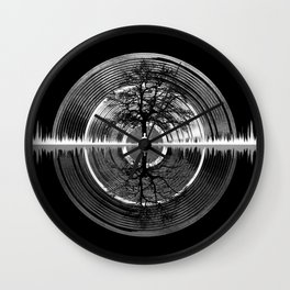 Returning To Silence Wall Clock