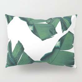 Banana Leaves Tropical Vibes #5 #foliage #decor #art #society6 Pillow Sham