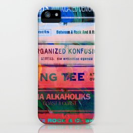 Old School Hip Hop tapes 551 iPhone Case