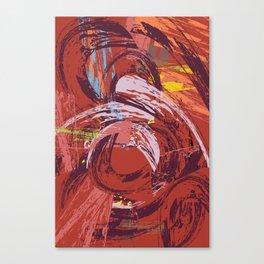 Red Bang Canvas Print