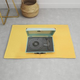 Lionel's Record Player Rug